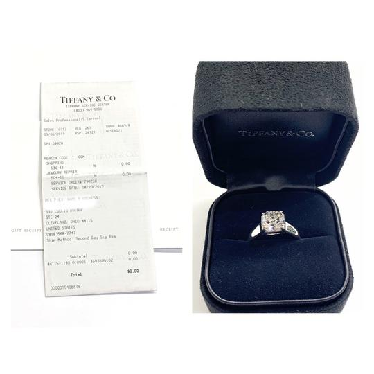 Tiffany & Co. GORGEOUS!! BRILLIANT!! Tiffany & Co. Platinum GIA Certified Lucida Solitaire Diamond Ring Image 10