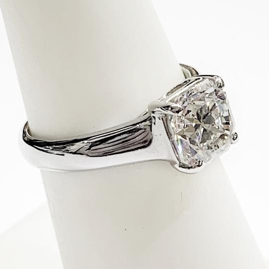 Tiffany & Co. GORGEOUS!! BRILLIANT!! Tiffany & Co. Platinum GIA Certified Lucida Solitaire Diamond Ring Image 3