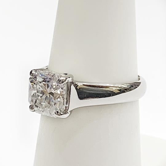 Tiffany & Co. GORGEOUS!! BRILLIANT!! Tiffany & Co. Platinum GIA Certified Lucida Solitaire Diamond Ring Image 4