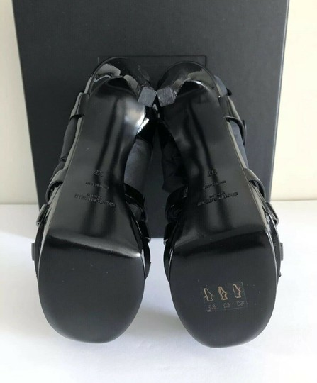 Saint Laurent Bianca Tribtoo Platform Paris Black Pumps Image 7