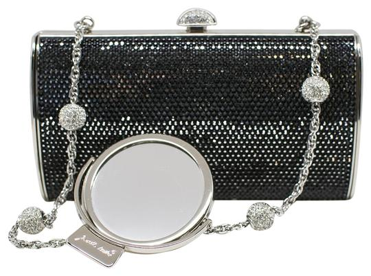 Judith Leiber Cosmojet Couture Fashion Black Crystal Clutch Image 0