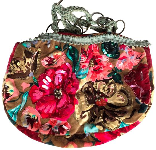 Preload https://img-static.tradesy.com/item/26118163/with-and-multicolor-velvet-sequin-beads-bells-tote-0-1-540-540.jpg