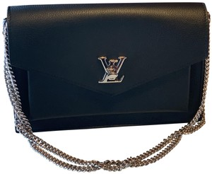 Louis Vuitton Chain Three Ways To Carry Siliver Hardware Cross Body Bag