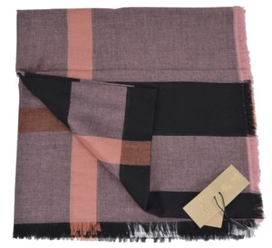 Burberry New Burberry Modal Wool Nova Check Large Square Scarf