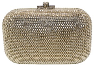 Judith Leiber Couture New York Champagne Crystal Clutch