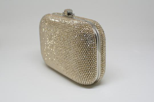 Judith Leiber Couture New York Champagne Crystal Clutch Image 1