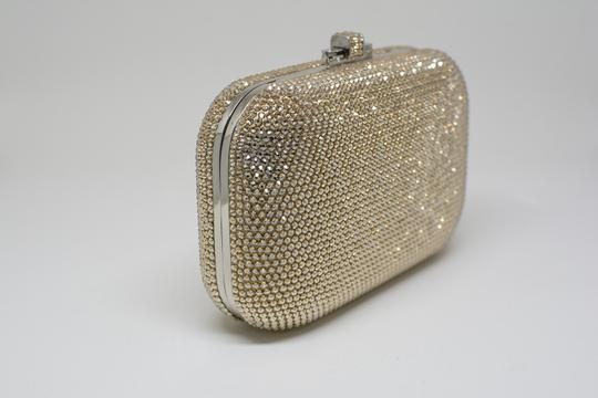 Judith Leiber Couture New York Champagne Crystal Clutch Image 2