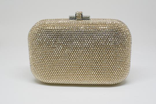 Judith Leiber Couture New York Champagne Crystal Clutch Image 3