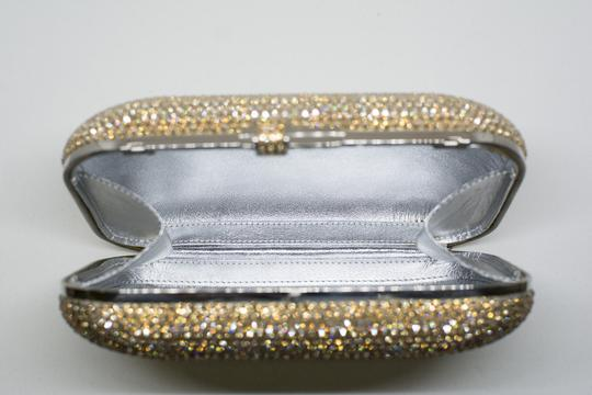 Judith Leiber Couture New York Champagne Crystal Clutch Image 4