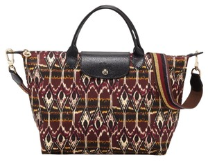 Longchamp Tote in Burgdy