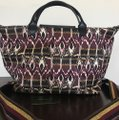 Longchamp Tote in Burgdy Image 2