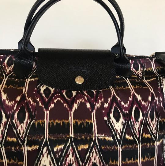 Longchamp Tote in Burgdy Image 6