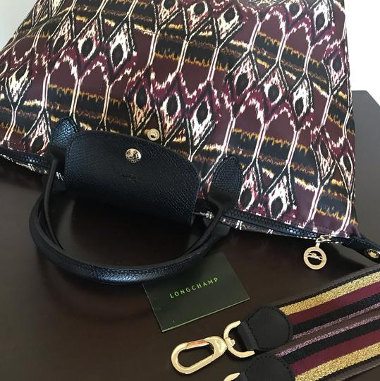 Longchamp Tote in Burgdy Image 7