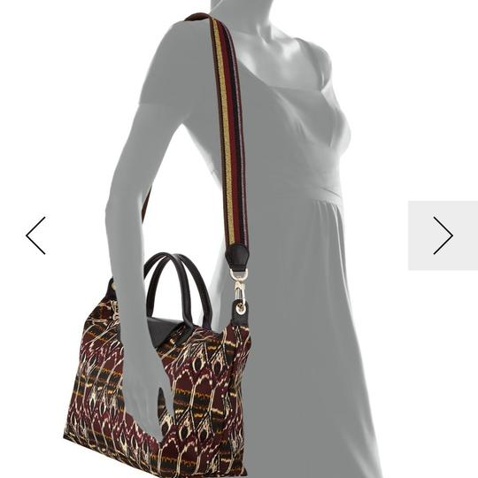 Longchamp Tote in Burgdy Image 9