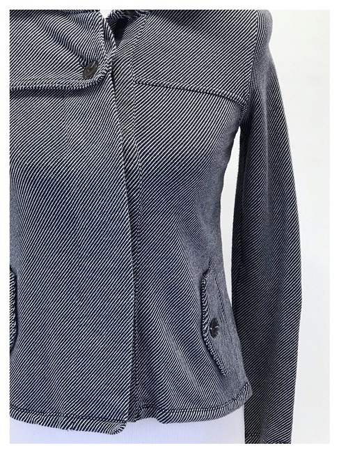 Urban Outfitters Navy/White Jacket Image 3