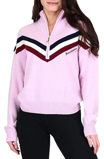 Preload https://img-static.tradesy.com/item/26118335/juicy-couture-cashmere-health-zip-pink-sweater-0-1-650-650.jpg