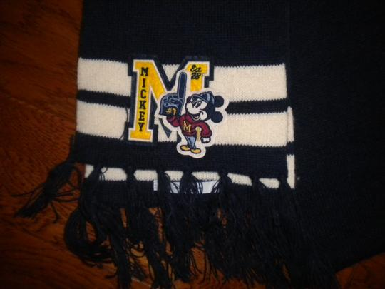 Disney Disney Parks Adult OS Mickey Mouse Letterman Scarf Image 1