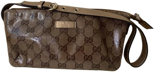 Preload https://img-static.tradesy.com/item/26118384/gucci-gold-gg-crystal-canvas-and-leather-pochette-0-1-540-540.jpg