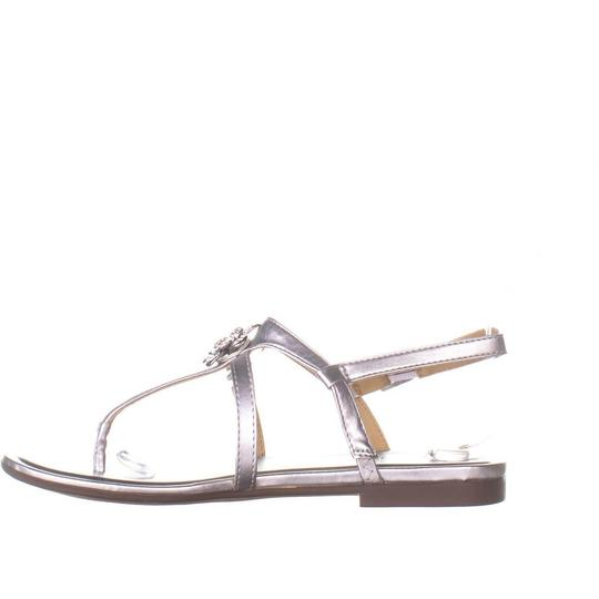 Naturalizer Silver Sandals Image 3