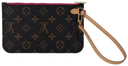 Preload https://img-static.tradesy.com/item/26118400/louis-vuitton-neverfull-pm-pouch-in-fuschiapink-brown-monogram-canvas-wristlet-0-1-540-540.jpg