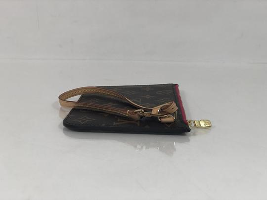 Louis Vuitton Lv Neverfull Neverfull Pm Monogram Pouch Wristlet in Brown Image 4