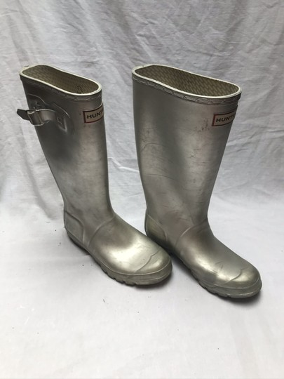 Hunter Silver Boots Image 3
