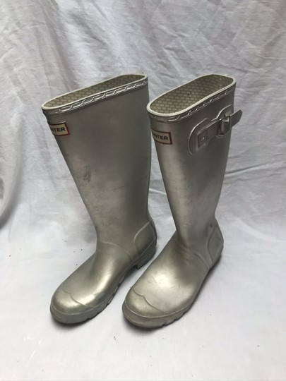 Hunter Silver Boots Image 6