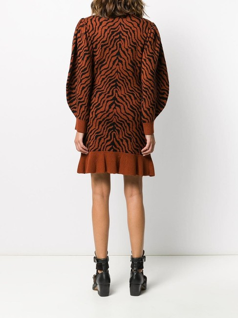 Ulla Johnson short dress Rust Lovers Animal Print Sweater on Tradesy Image 1
