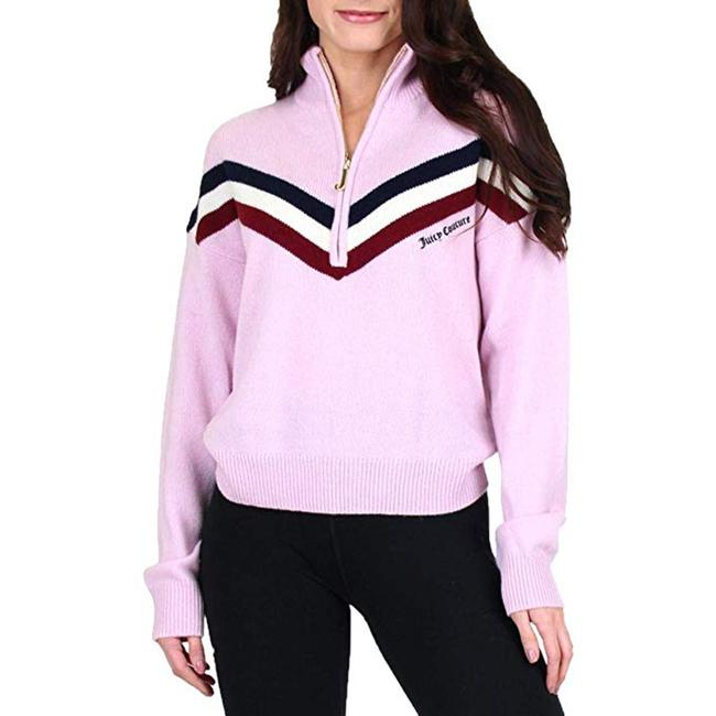 Juicy Couture Cashmere Sporty Stripe Sweater Image 2