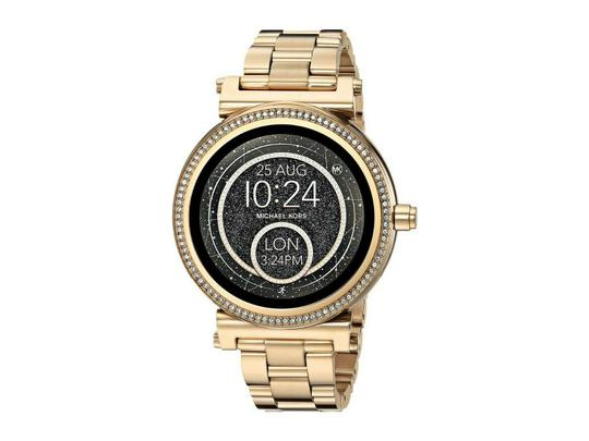 Michael Kors NEW WOMENS MICHAEL KORS (MKT5021) SOFIE ACCESS GOLD TOUCHSCREEN SMART Image 0