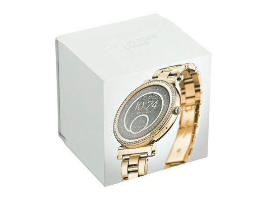 Michael Kors NEW WOMENS MICHAEL KORS (MKT5021) SOFIE ACCESS GOLD TOUCHSCREEN SMART Image 1