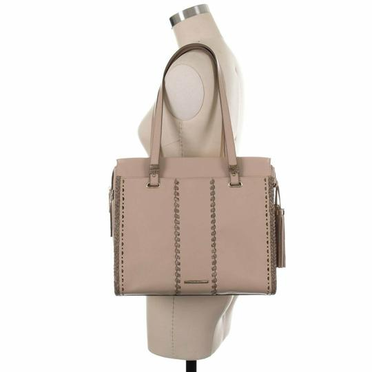 Brahmin Tote in Natural Crawford Image 2