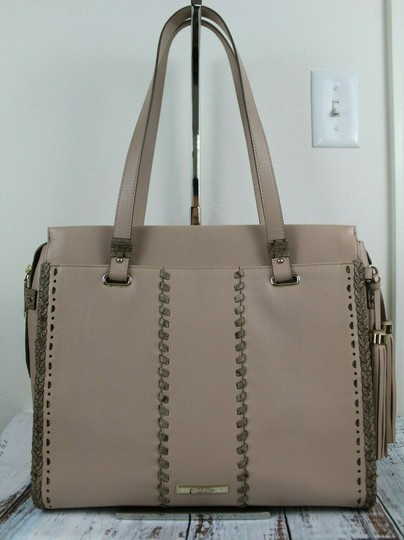 Brahmin Tote in Natural Crawford Image 5