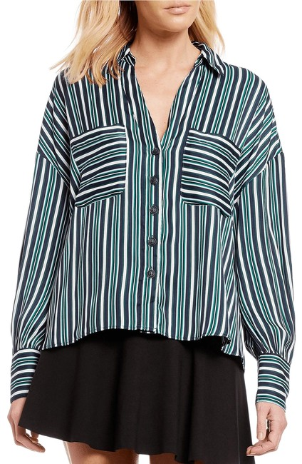 Preload https://img-static.tradesy.com/item/26118494/free-people-multicolor-mad-about-you-stripe-shirt-new-blouse-size-8-m-0-1-650-650.jpg