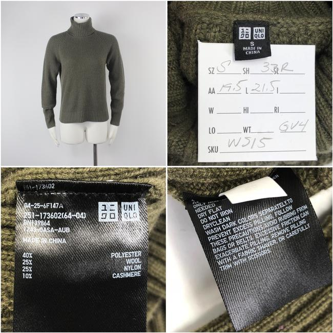 Uniqlo Cashmere Turtleneck Luxury Cashmere Sweater Image 8