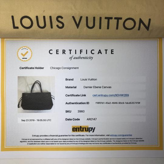 Louis Vuitton Lv Neverfull Neverfull Pm Damier Canvas Shoulder Tote in Brown Image 1