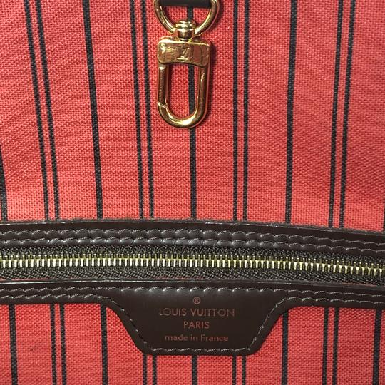Louis Vuitton Lv Neverfull Neverfull Pm Damier Canvas Shoulder Tote in Brown Image 10