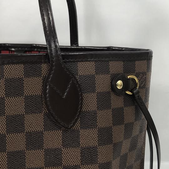 Louis Vuitton Lv Neverfull Neverfull Pm Damier Canvas Shoulder Tote in Brown Image 2