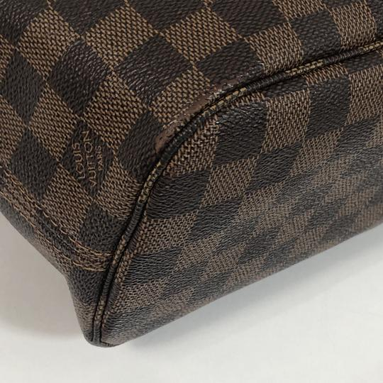 Louis Vuitton Lv Neverfull Neverfull Pm Damier Canvas Shoulder Tote in Brown Image 3