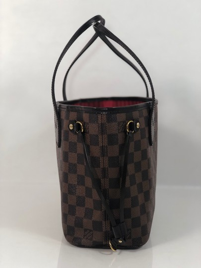 Louis Vuitton Lv Neverfull Neverfull Pm Damier Canvas Shoulder Tote in Brown Image 4