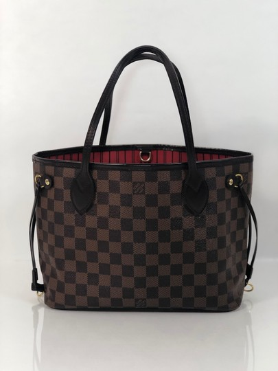 Louis Vuitton Lv Neverfull Neverfull Pm Damier Canvas Shoulder Tote in Brown Image 5
