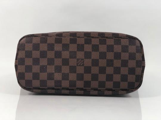Louis Vuitton Lv Neverfull Neverfull Pm Damier Canvas Shoulder Tote in Brown Image 6