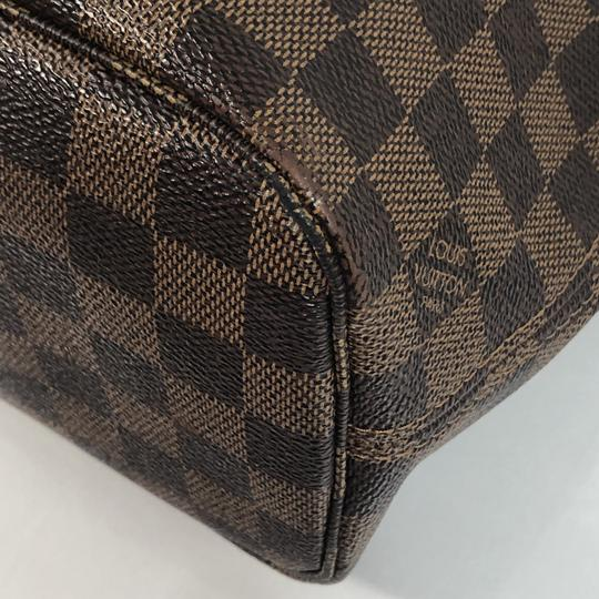 Louis Vuitton Lv Neverfull Neverfull Pm Damier Canvas Shoulder Tote in Brown Image 7