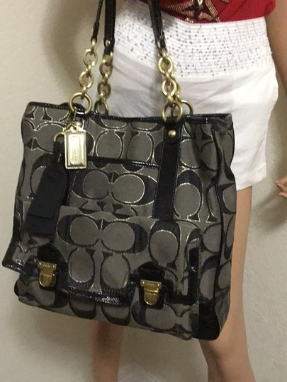 Coach Tote in black Image 1