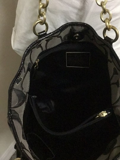 Coach Tote in black Image 10