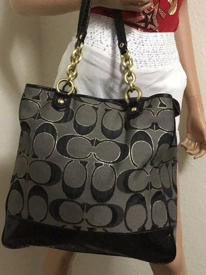 Coach Tote in black Image 5
