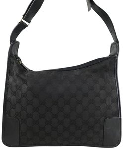 Gucci Gg Web Hobo Bag