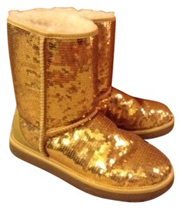UGG Boots Gold Boots