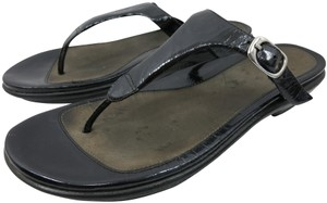 Dansko Slide Pata De Gallo Casual Black Sandals