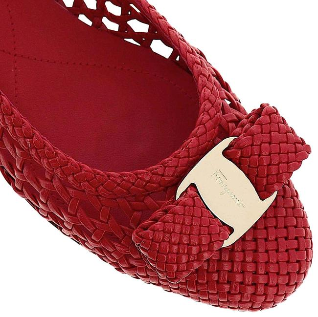 Item - Red with Tag Varina Woven Leather Ballet Flats Size US 6 Regular (M, B)
